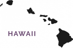 Map of Hawai